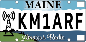 Maine special series license plate