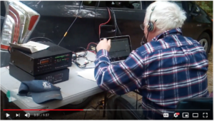 YouTube image of W1NVT activation, Niquette Bay State Park, Vermont #3136