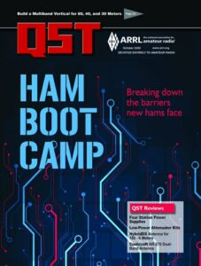 Ham Radio Bootcamp, October 2020 QST story and cover