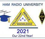 Ham Radio University 2021 logo