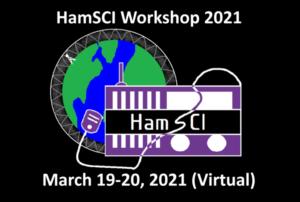 HamSCI 2021 Workshop logo