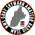 Grey SKYWARN logo