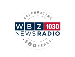 WBZ 100 Year Anniversary logo