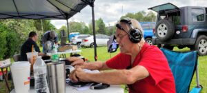 Middlesex ARS Mud Volley special event station W1E